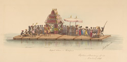 The Teppakkulam or Raft Festival, Madras